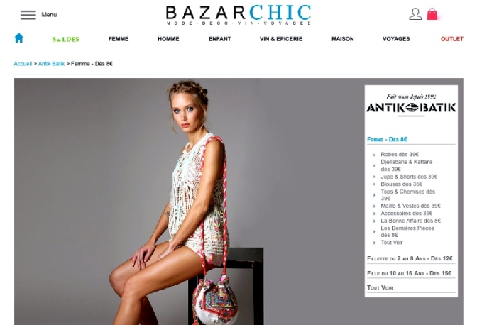 BONS PLANS ANTIK BATIK sur BAZARCHIC !